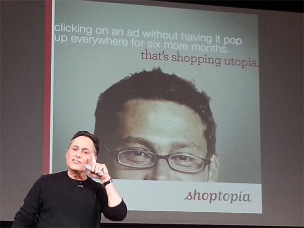 Mort on Popup Shopping Utopia
