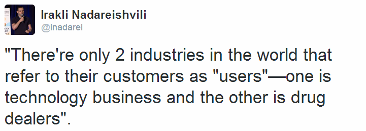 'There's only two industries' quote.