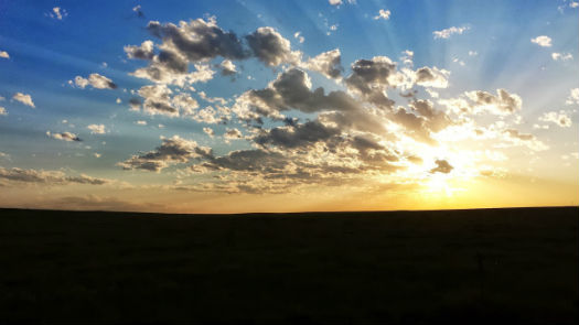 A South Dakotan Sunset